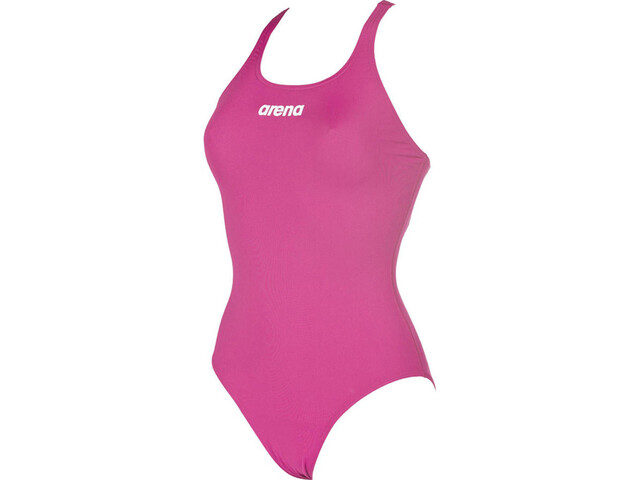 arena Solid Swim Pro One Piece Swimsuit Damen fresia rose-white